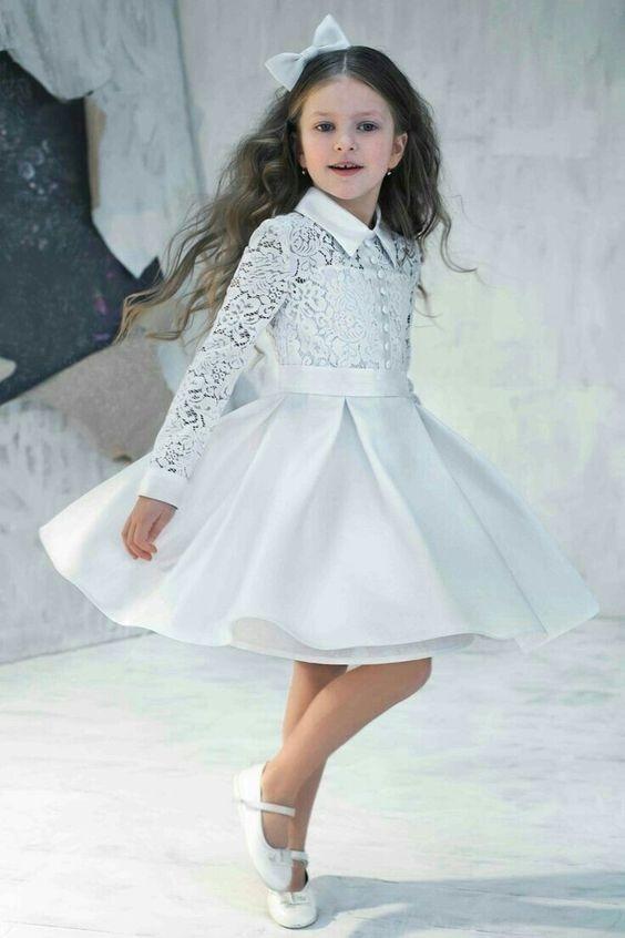 لباس عروس بچه گانه کوتاه