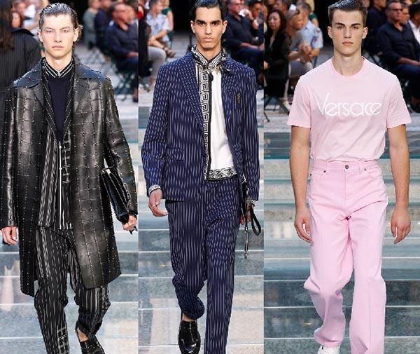 کالکشن لباس مردانه بهاره ۲۰۱۸ برند ورساچه