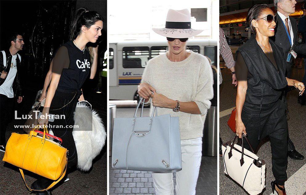 چمدان های مستطیل شکل فاخر لاکچری ازز برند لویی ویتون