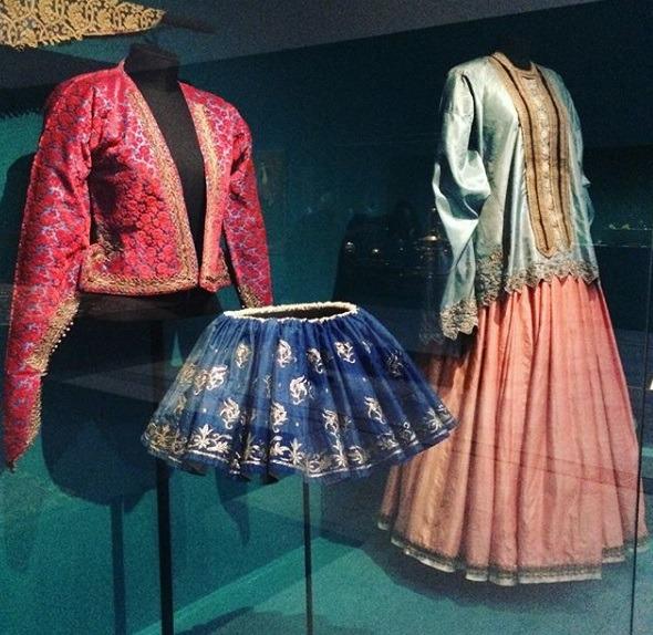 لباس های قاجار در موزه لوور –لارنس فرانسه