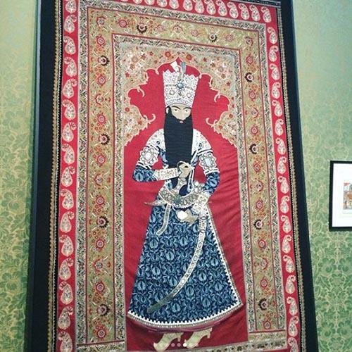 لباس شاهان قاجار در موزه لوور