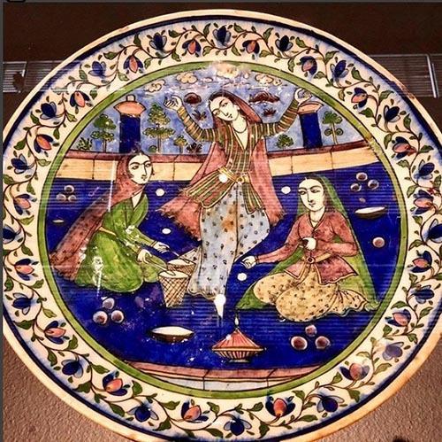مد و لباس ایرانی و اسلامی را در موزه لوور-لارنس