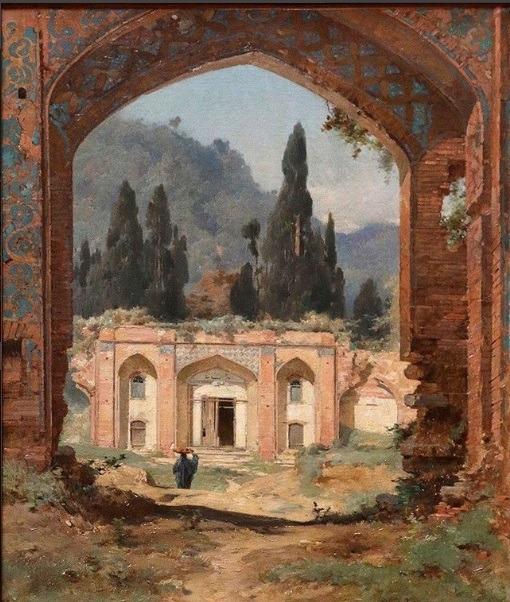 نقاشی ایرانی عصر قجری در موزه لوور فرانسه