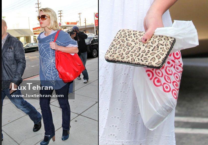 کیف دستی و کیف رو دوشی بریتنی اسپیرز
