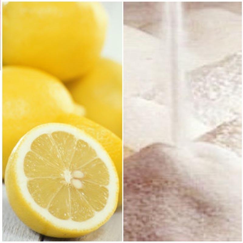 لیمو برای پاک سازی و جوان سازی پوست