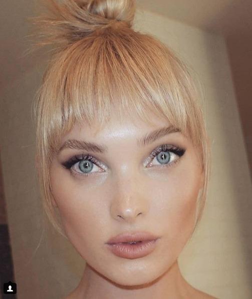 سلفی از السا هوسک مدل سوئدی برند ویکتوریا سکرت