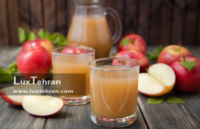 درمان دهیدراته با آب سیب