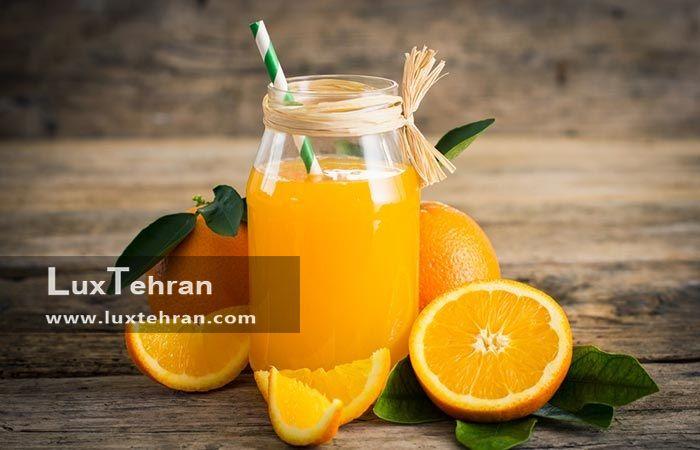 درمان دهیدراته با آب پرتقال