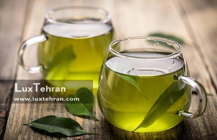 درمان دهیدراته پوست با چای سبز