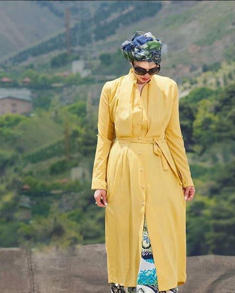 پارچه نخی برای تابستان مدل مانتو