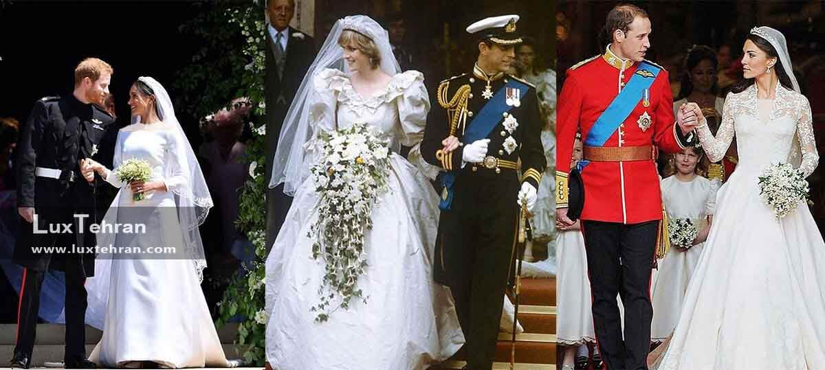 عروسی سلطنتی ازدواج مگان مارکل و پرنس هری