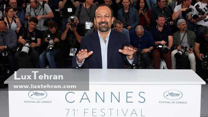 اصغر فرهادی در جشنواره کن 2015 فرانسه