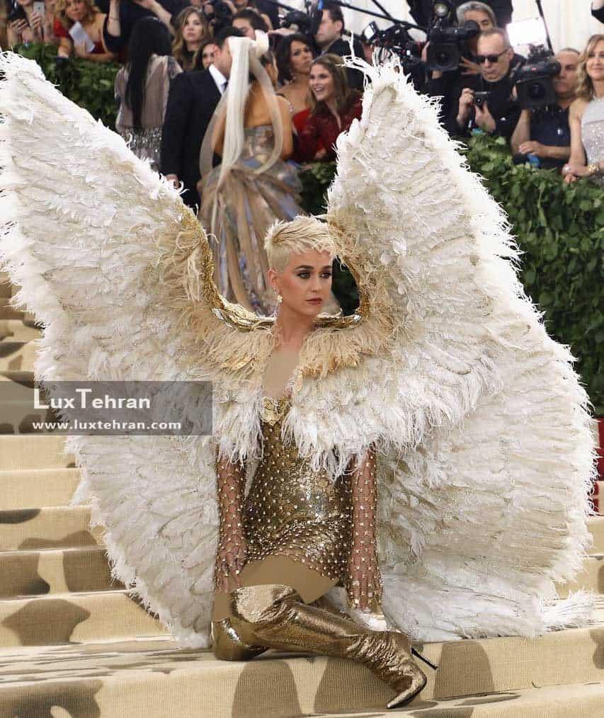جذاب ترین لباس های مت گالا ۲۰۱۸ لباس کیتی پری