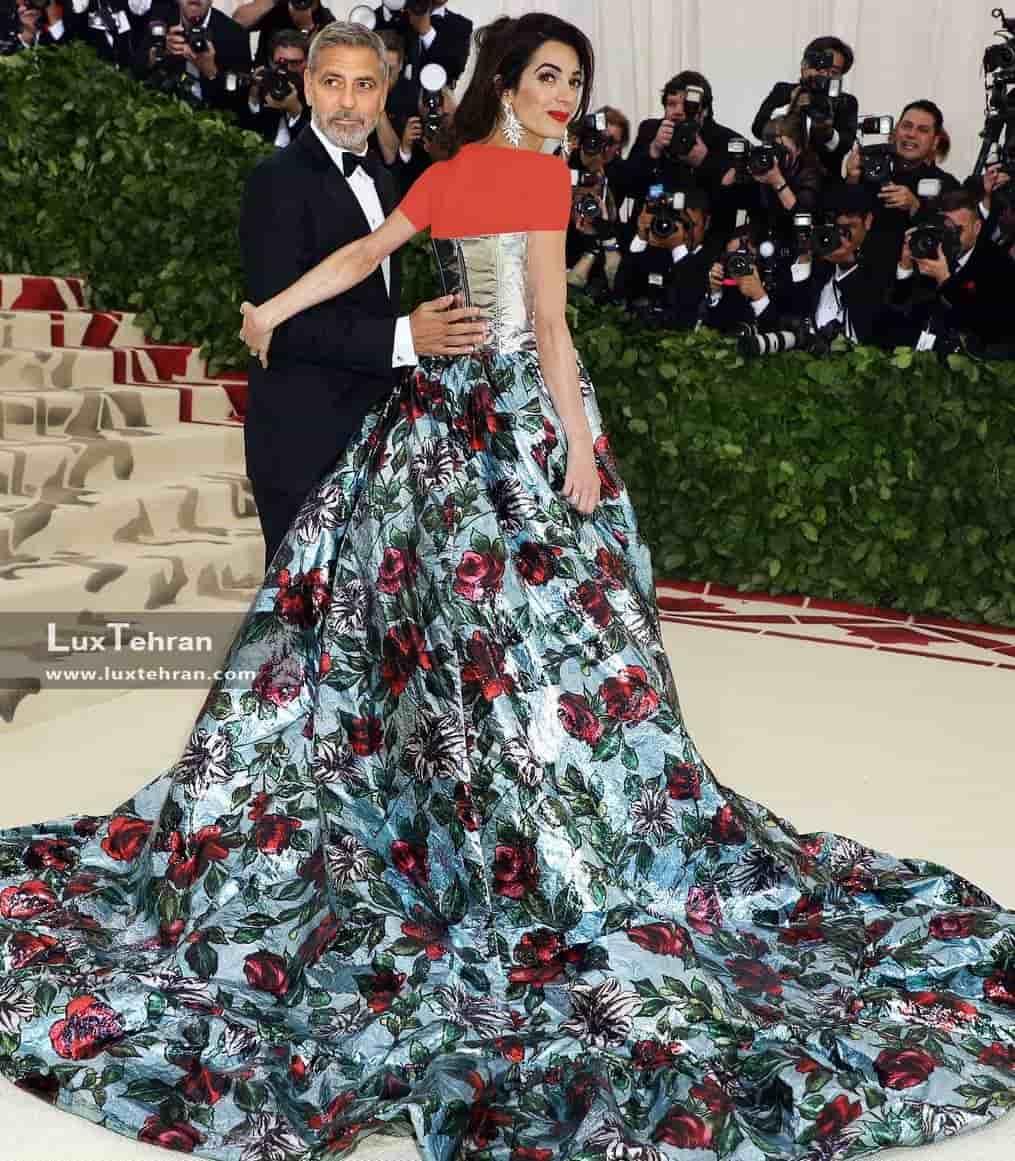 جورج کلونی، فوق ستاره هالیوود را در کنار همسر جدیدش امل (AMAL)