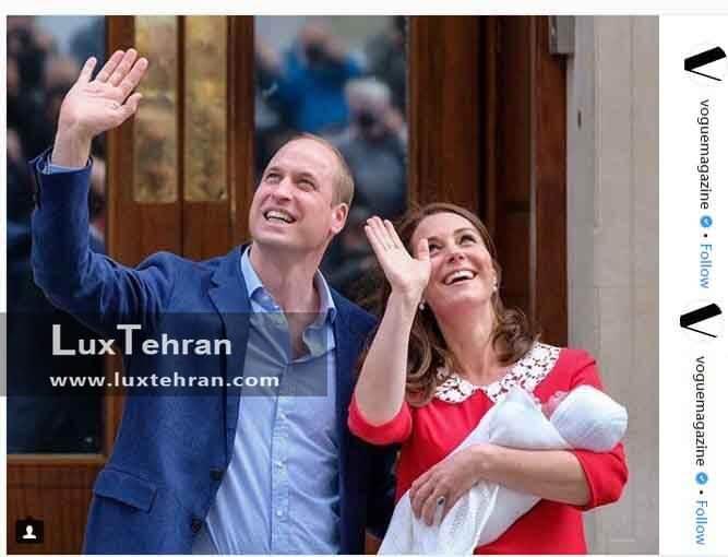 (تولد سومین فرزند کیت میدلتون در بیمارستان سنت ماری لندن