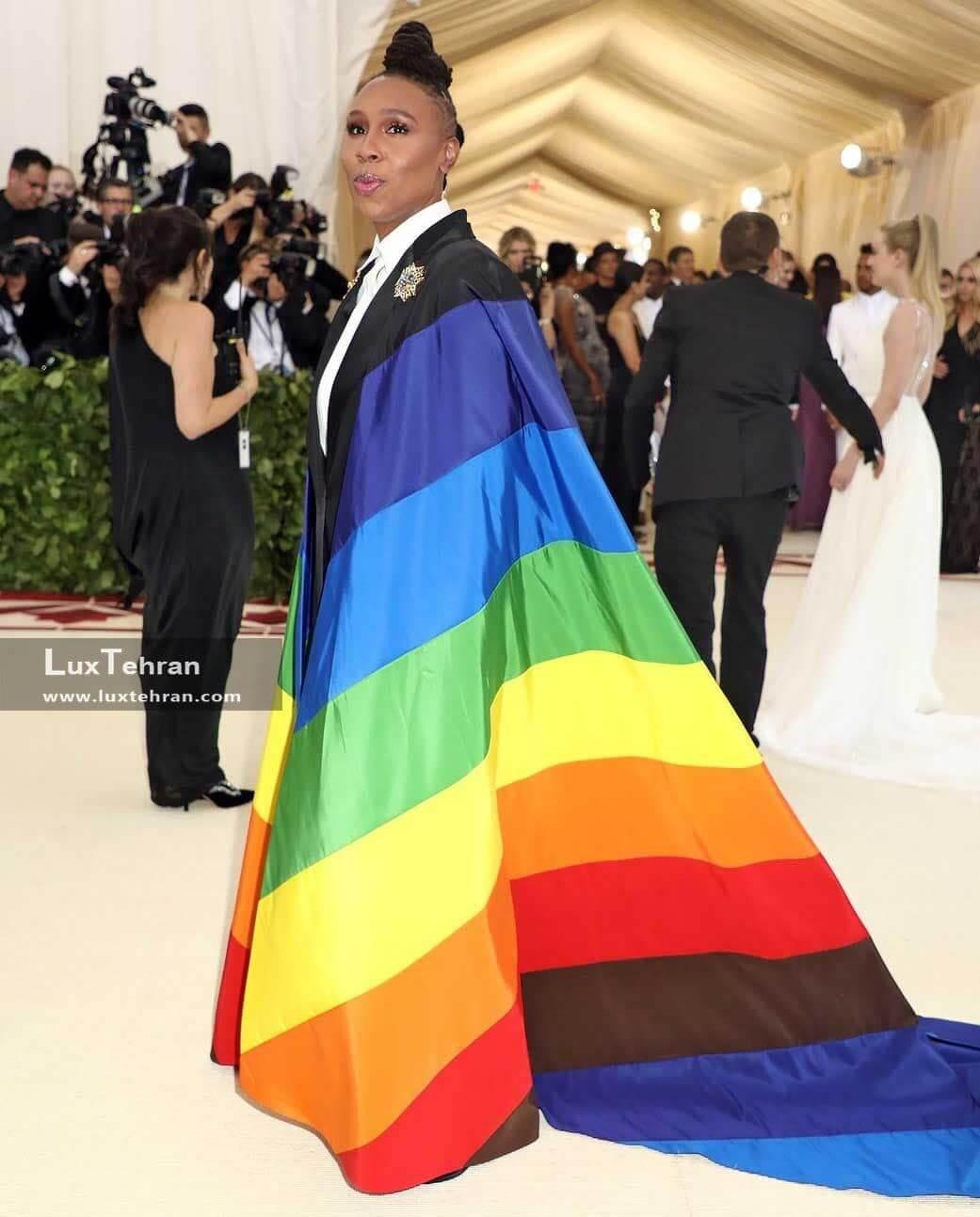 لباس جالب رنگارنگ LENA WAITHE