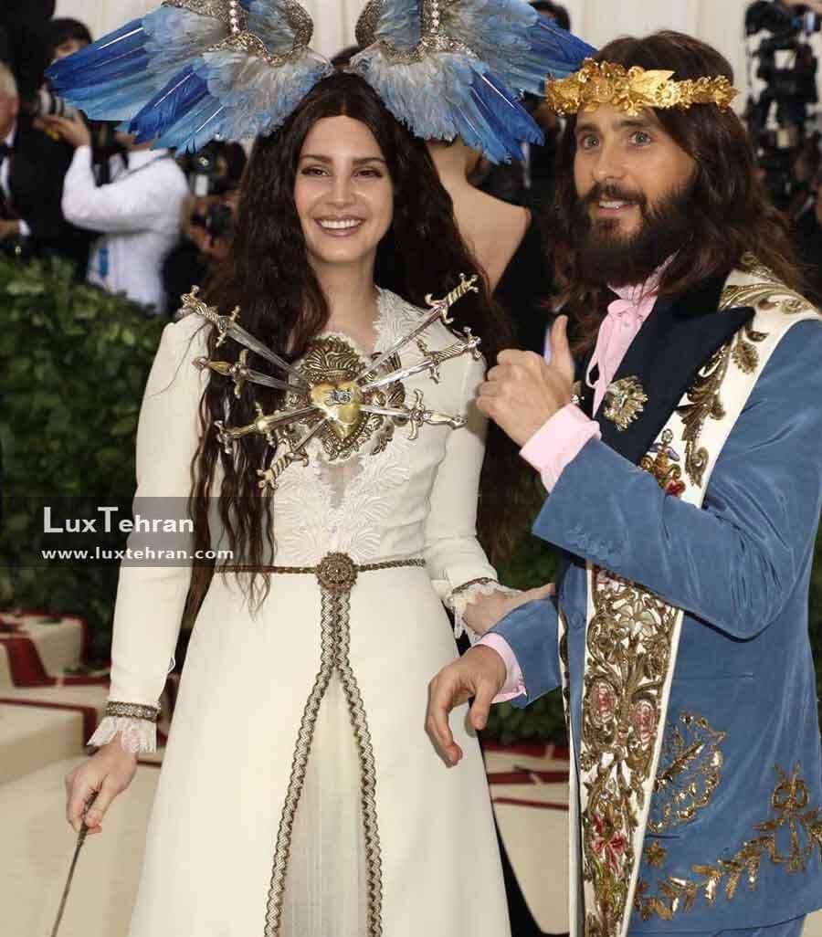 لباسی از LANA DEL REY در کنار JARED LEO