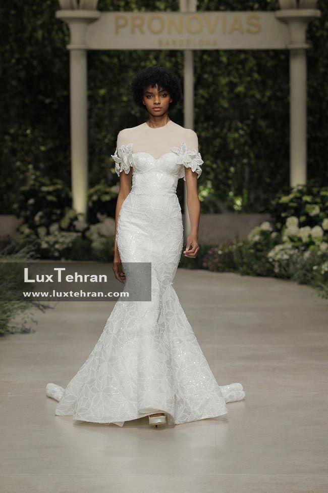 مدل لباس عروس سفید رنگ برند اسپانیایی