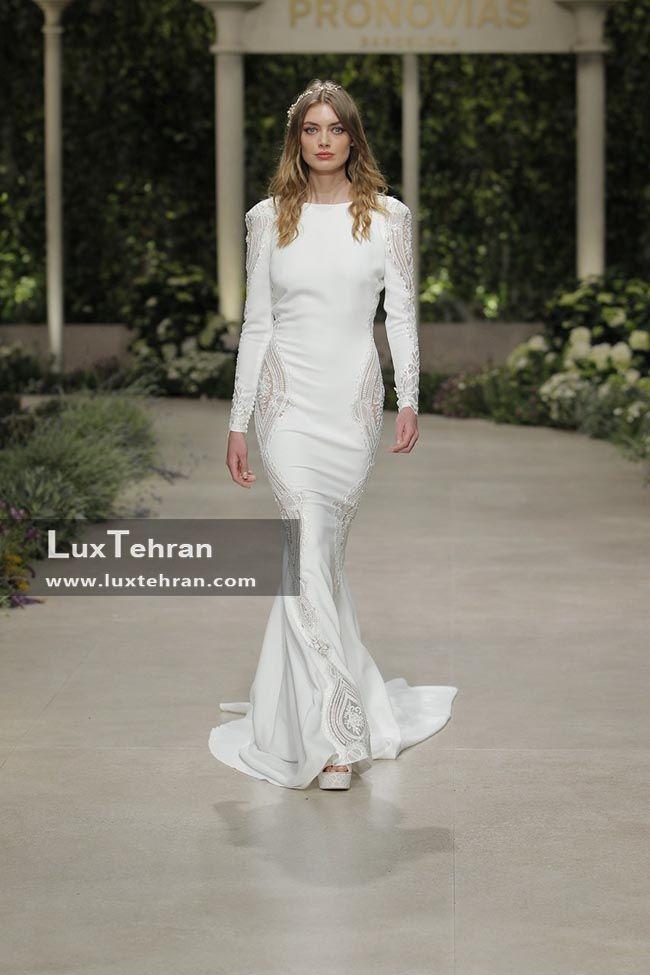 یکی از پوشیده ترین طرح های لباس عروس 2018