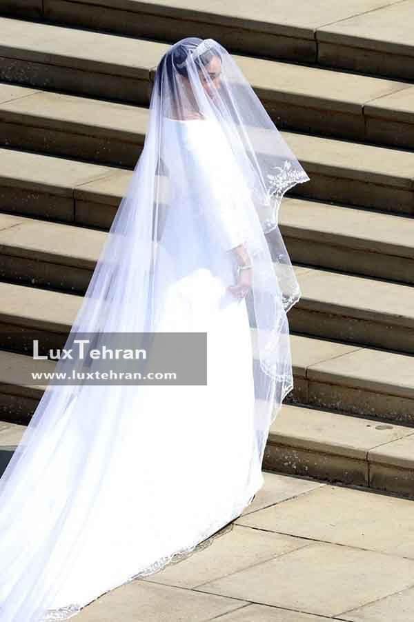 لباس عروس مگان مارکل عروسی سلطنتی