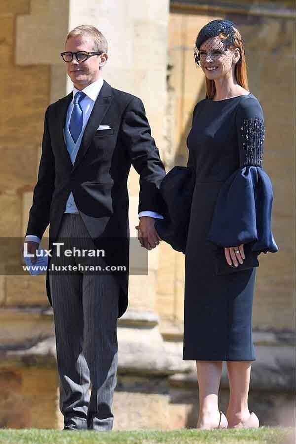 (لباس SANTTU SEPPALA و همسرش SARAH RAFFERTY در مراسم عروسی مگان مارکل و هری)