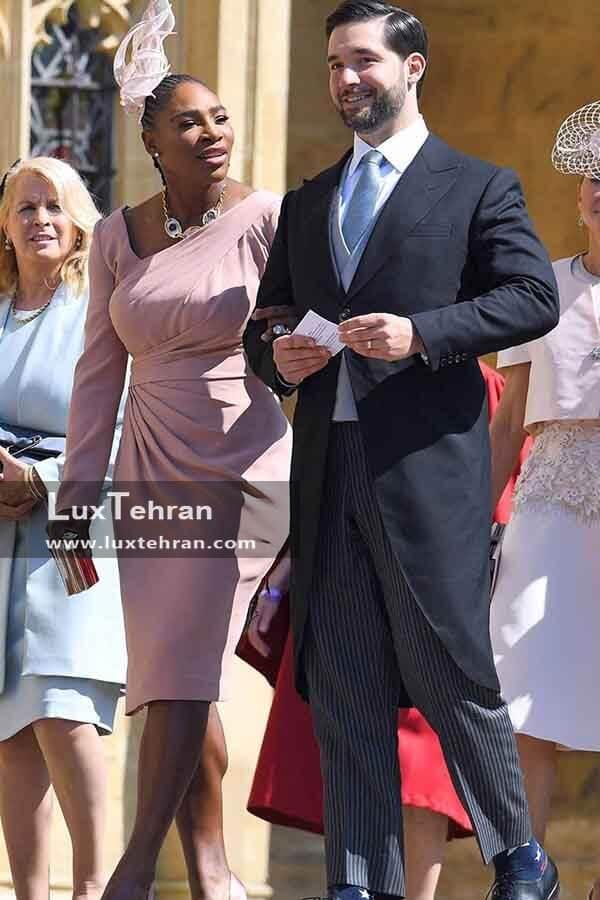 (لباس عروس اسطوره سیاه پوست تنیس زنان آمریکا – سرنا ویلیامز و همسرش الکسیس اوهانیان)