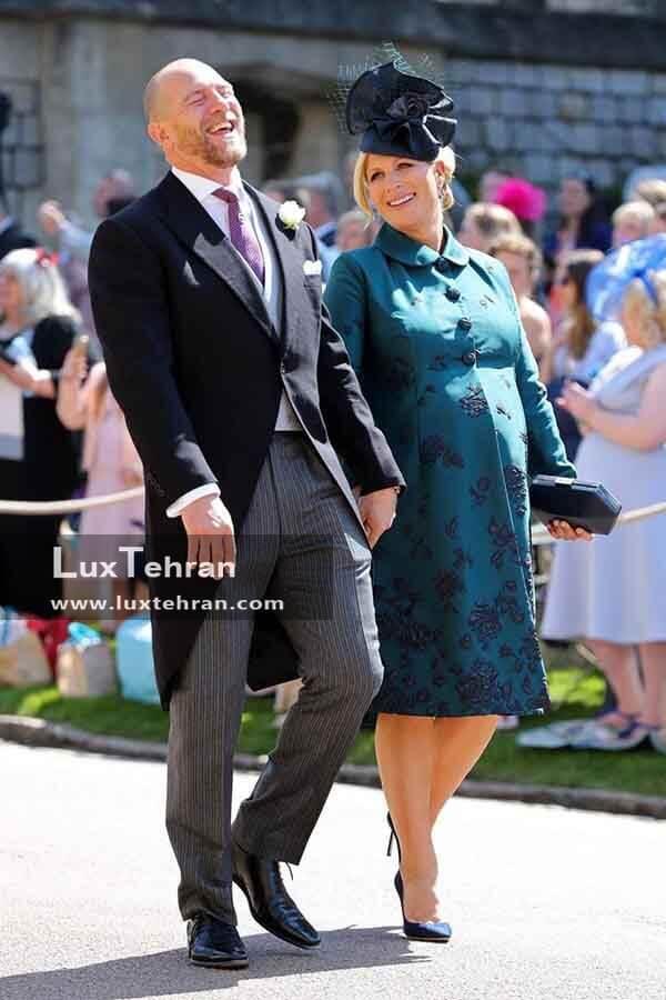 (تصویری از لباس MIKE و همسرش ZARA TINDALL)