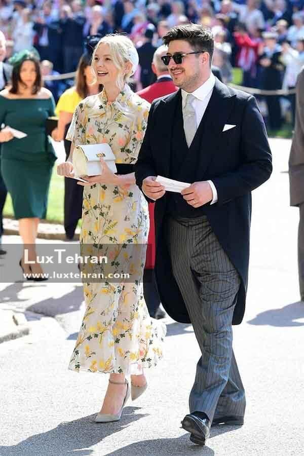(تصویری از لباس MARCUS MUMFORD و همسرش CAREY MULLIGAN)