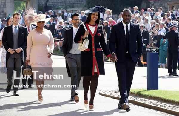 تصویر شماری از از مهمانان دعوت شده به مراسم عروسی مگان مارکل و هری