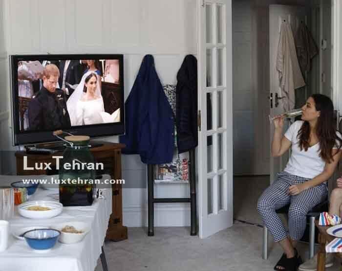 مهم ترین برنامه تلویزیونی بریتانیا پخش مستقیم برنامه عروسی مگان مارکل و هری بود