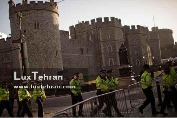 چهار هزار نیروی پلیس انگلیس، برقراری امنیت بر در اطراف کلیسا