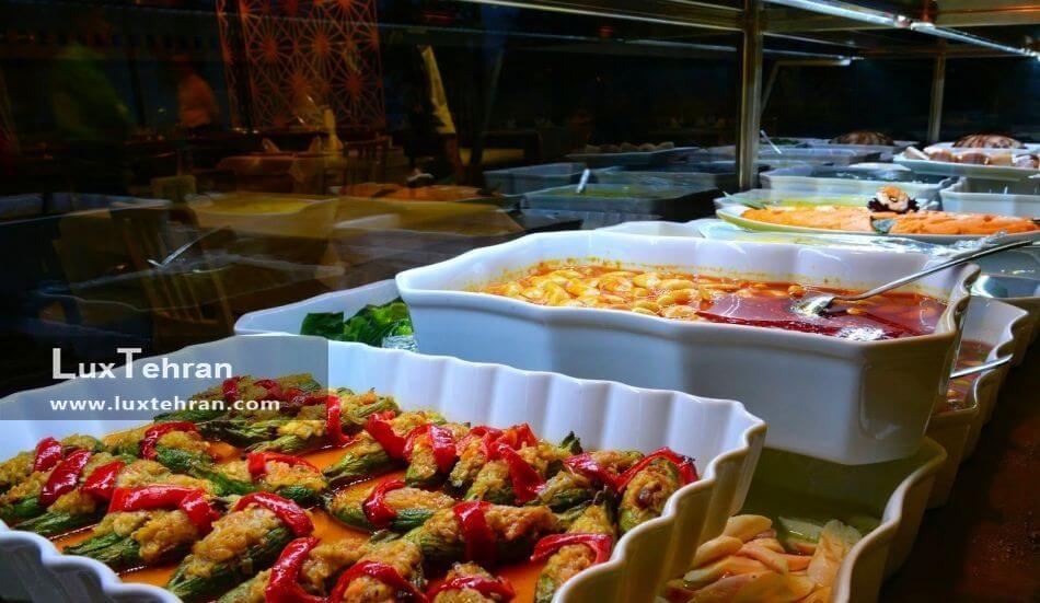طعم خوب غذاهای ترکیه و مدیترانه ای