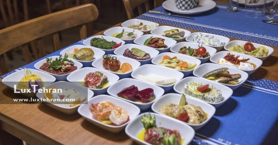 رستوران زیبا و دیدنی با غذاهای خوشمزه ماوی سورگن