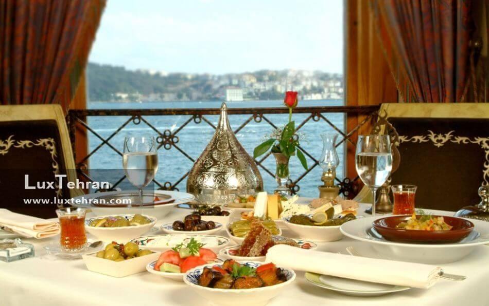 رستوران گردی لوکس در استانبول