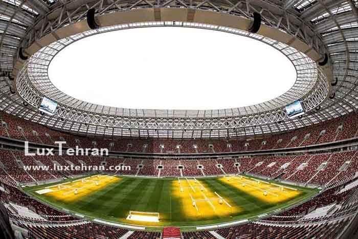 استادویم لوژینکی روسیه ، مجلل ترین ورزشگاه های روسیه در شهر مسکو