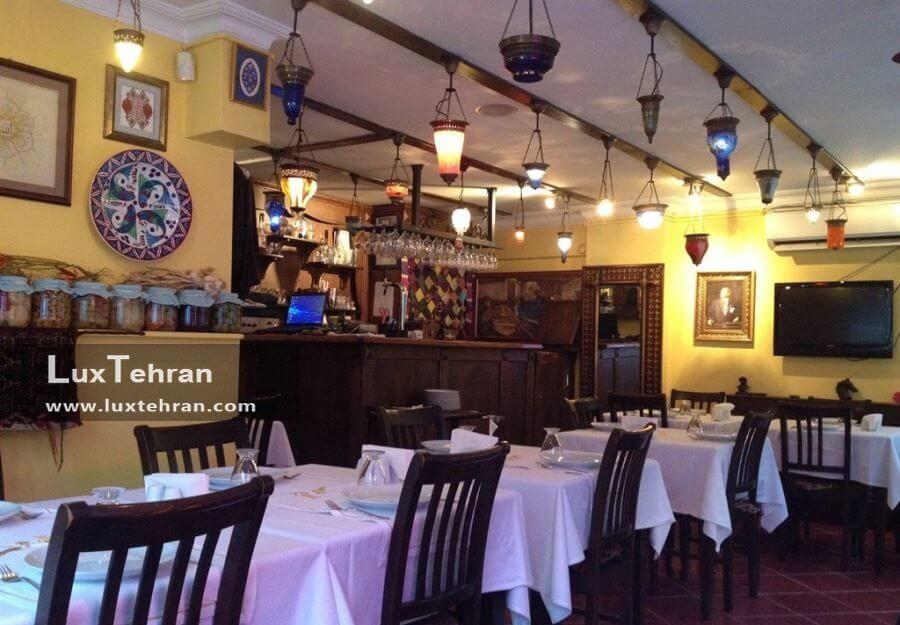 رستوران خانه ماهی سلطان احمد استانبول