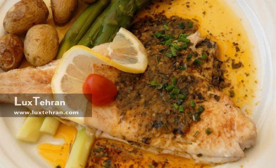 غذاهای خوشمزه دریایی در ترکیه