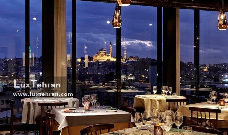 رستوران توپاز استانبول
