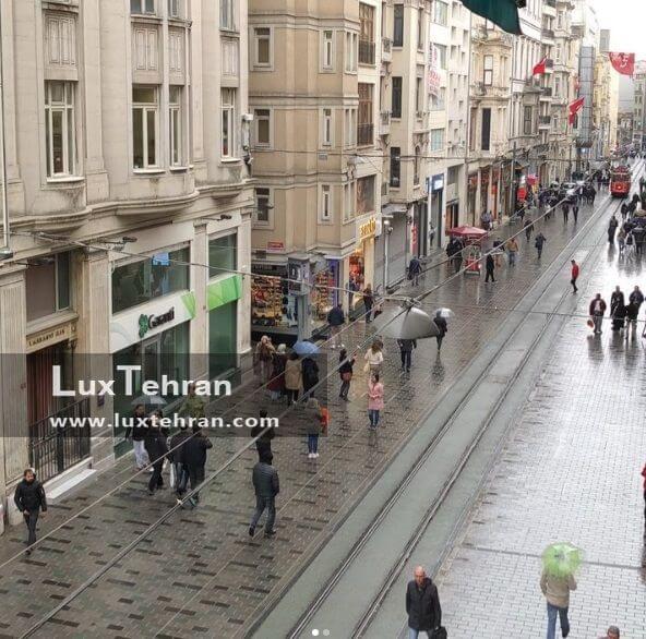خیابان معروف استقلال استانبول