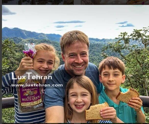 سفر اریک با فرزندانش به اکوادور