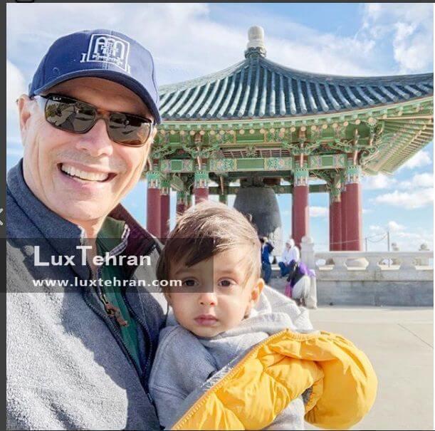 سفر جانی با فرزندش به کره جنوبی