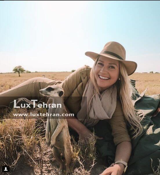 جهانگردی کیرستن به بوتسوانا آفریقا