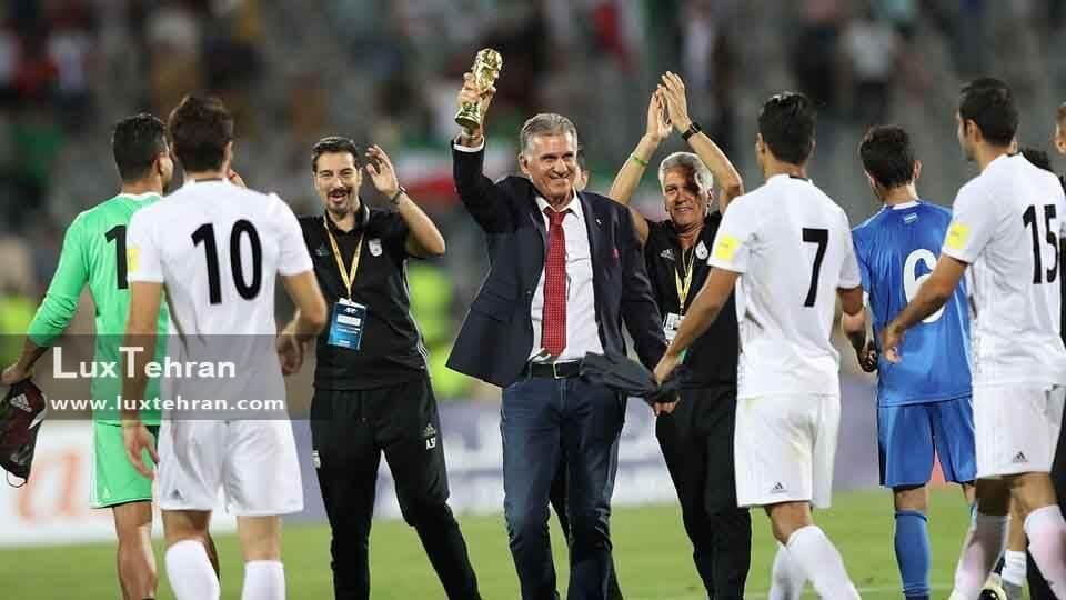 کدام بازی های تیم ملی فوتبال ایران در مسکو برگزار می شود