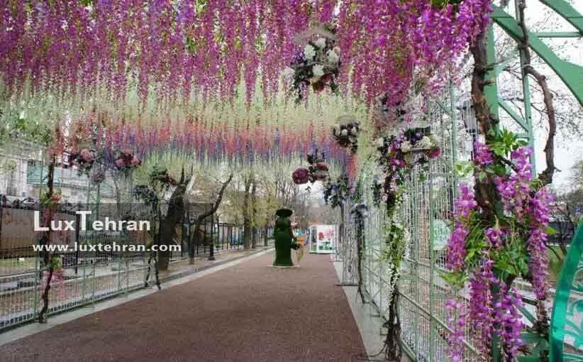 فستیوال شکوفه های بهاری در مسکو