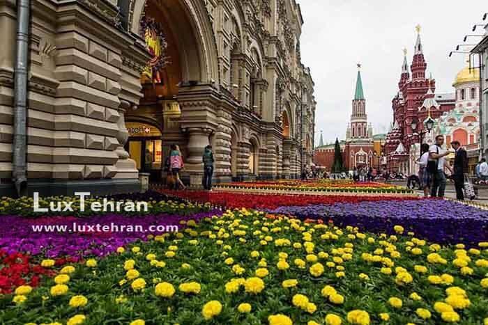 مسکو در تابستان