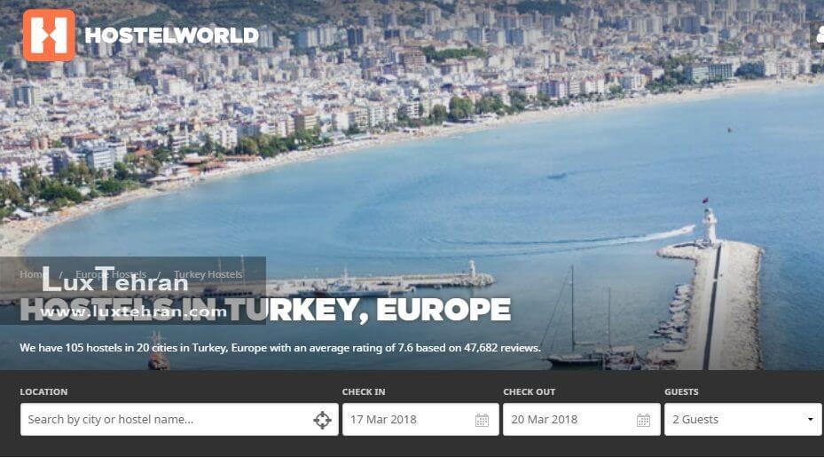 هشتگ گردی در ترکیه