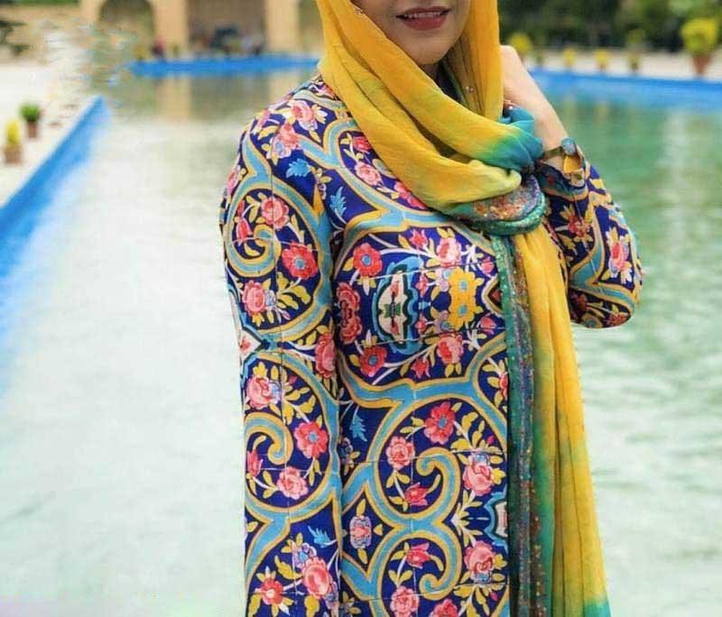 مدل مانتو تابستانی نخی با طرح کاشی و سنتی