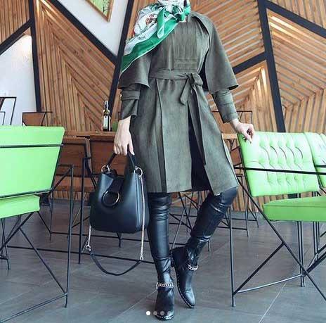 مدل مانتو اسپرت دانشجویی دخترانه کوتاه و شیک