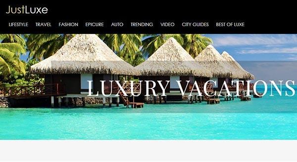تصویر ایندکس سایت JUXTLUXE.COM
