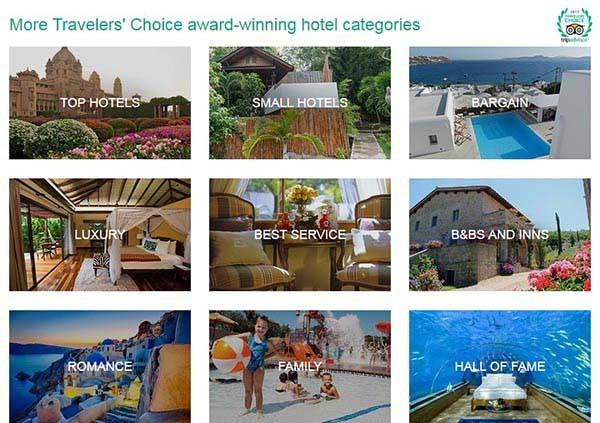 مقصدهای گردشگری جذاب که بالاترین امتیاز را توسط کاربران تریپ ادوایزر